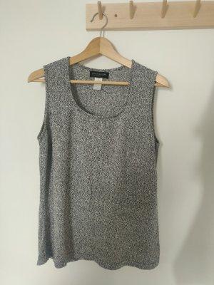 Jones New York Gebreid shirt wit-grijs