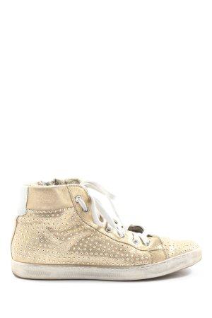 Meline High Top Sneaker goldfarben Casual-Look