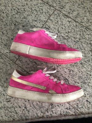 Méliné Sneakers wie Neu in neonpink