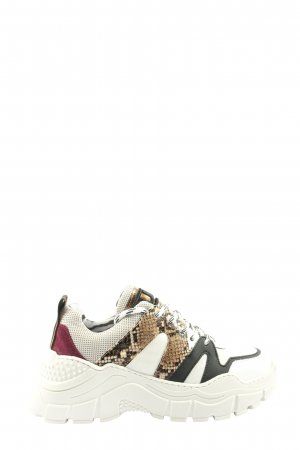 Meline Sneaker con zeppa motivo animale stile casual
