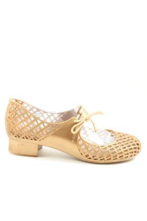 Melissa Chaussures Mary Jane orange clair style décontracté