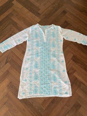 Melissa Odabash Odzież plażowa biały-jasnoniebieski