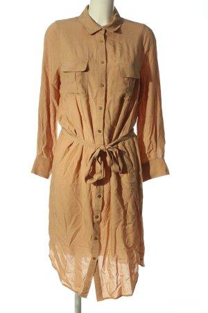 Melissa Odabash Vestido tipo blusón marrón look casual