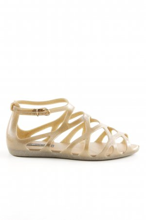 Melissa Beach Sandals gold-colored casual look