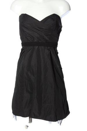 MELLEZE schulterfreies Kleid schwarz Elegant
