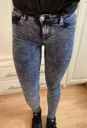 Mellierte Jeans