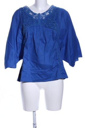 Mellow Peach Tunikabluse blau Casual-Look