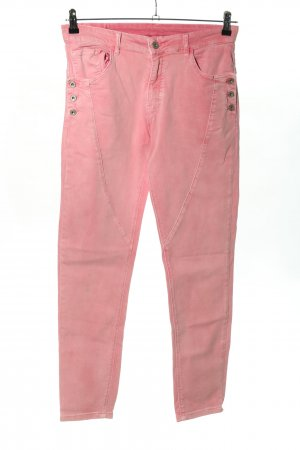 Melly & Co High Waist Jeans pink Casual-Look