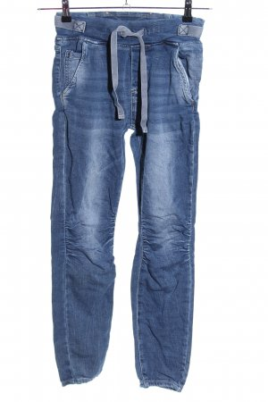 Melly & Co Skinny Jeans blau Casual-Look