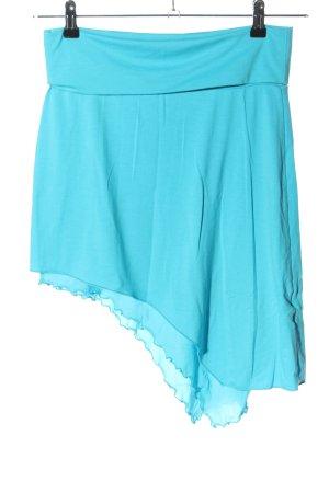 Melrose Falda asimétrica azul look casual