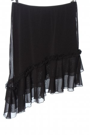 Melrose Asymmetrie-Rock schwarz Elegant