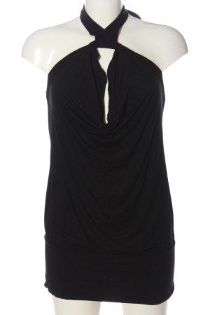 Melrose Basic topje zwart casual uitstraling