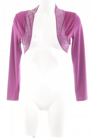 Melrose Bolero pink-silberfarben Elegant