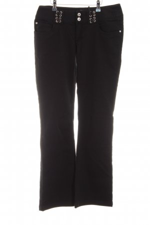 Melrose Boot Cut Jeans schwarz Casual-Look
