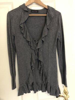 Melrose Knitted Cardigan dark grey