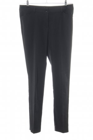 Melrose Chinohose schwarz Business-Look