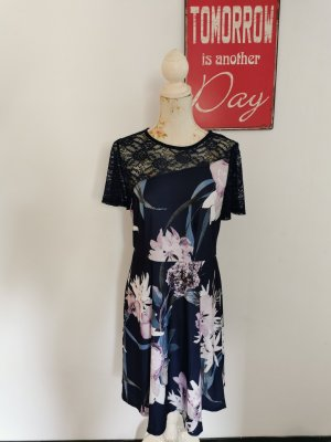 Melrose Jersey Dress dark blue-mauve