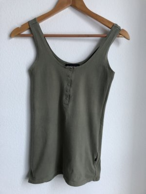 Melrose Tanktop groen-grijs-khaki