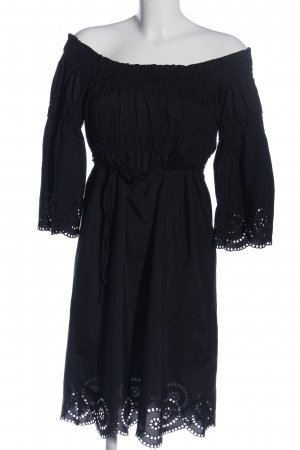 Melrose Empire Dress black casual look