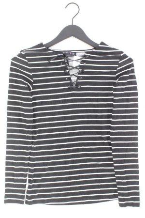 Melrose gestreiftes Sweatshirt schwarz Größe 36