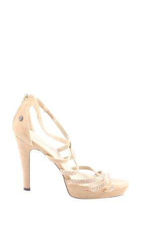 Melrose High Heel Sandal cream elegant