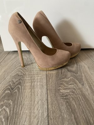 Melrose High Heels in Nude