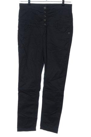Melrose High Waist Jeans schwarz Casual-Look
