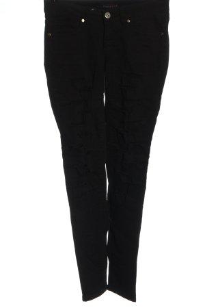 Melrose Jeans a vita alta nero stile casual