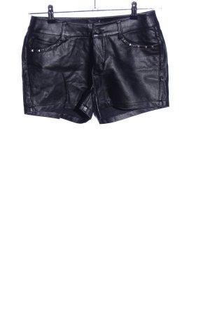 Melrose Hot Pants schwarz extravaganter Stil