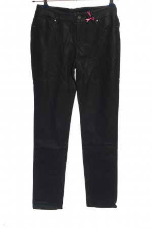 Melrose pantalón de cintura baja negro look casual