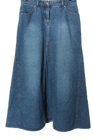 Melrose Gonna di jeans blu stile casual