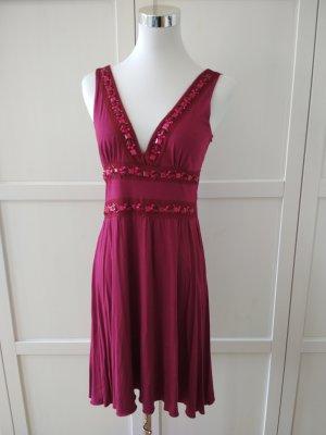Melrose Kleid Gr. 36 pink beere Midikleid Sommerkleid Cocktailkleid