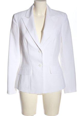 Melrose Korte blazer wit zakelijke stijl