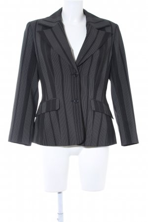 Melrose Kurz-Blazer schwarz-weiß Business-Look