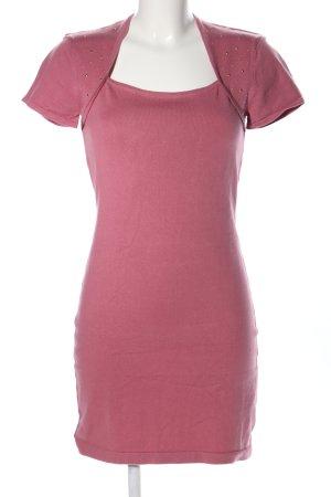 Melrose Abito a maniche corte rosa stile casual