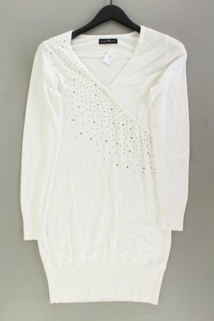 Melrose Longsleeve Dress natural white viscose