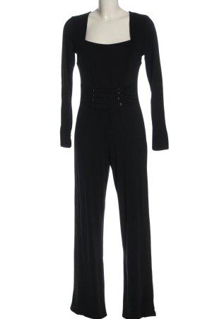 Melrose Langer Jumpsuit schwarz Elegant