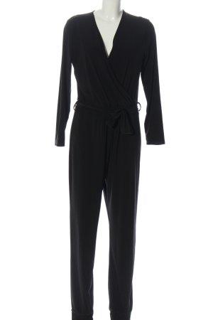 Melrose Langer Jumpsuit schwarz Casual-Look