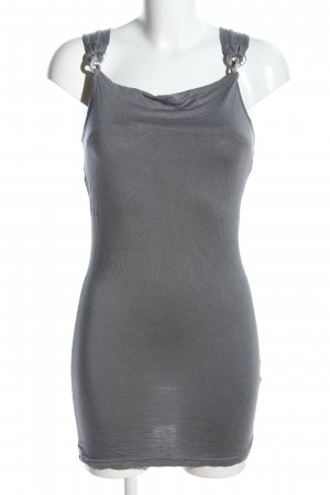 Melrose Minikleid hellgrau Casual-Look