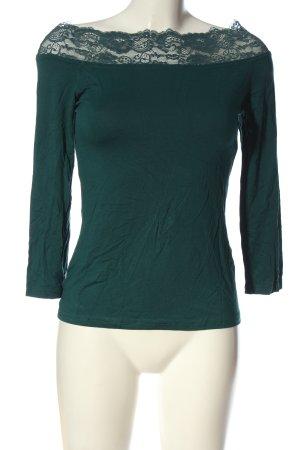 Melrose Longsleeve grün Casual-Look