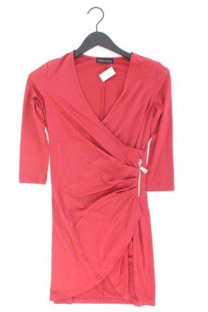 Melrose Midikleid Größe 34 neuwertig rot aus Polyester