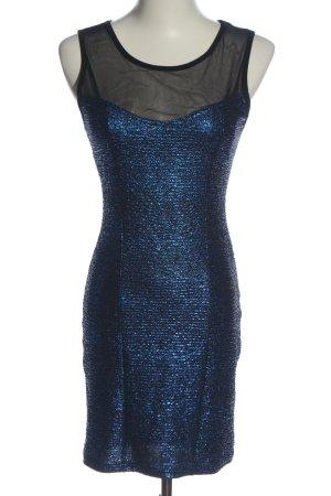 Melrose Minikleid blau-schwarz Elegant