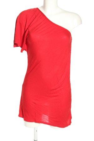 Melrose One-Shoulder-Kleid rot Casual-Look