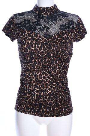 Melrose Print-Shirt Animalmuster Elegant