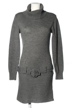Melrose Pulloverkleid hellgrau meliert Casual-Look