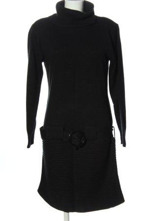 Melrose Robe pull noir style décontracté