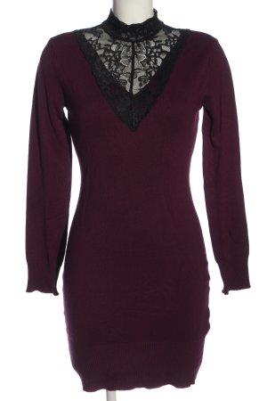 Melrose Pulloverkleid pink-schwarz Casual-Look