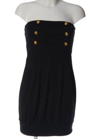 Melrose schulterfreies Kleid schwarz Elegant