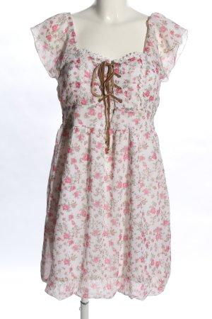 Melrose schulterfreies Kleid Blumenmuster Casual-Look