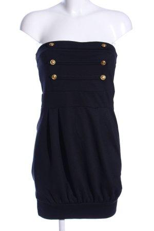 Melrose schulterfreies Kleid schwarz Casual-Look